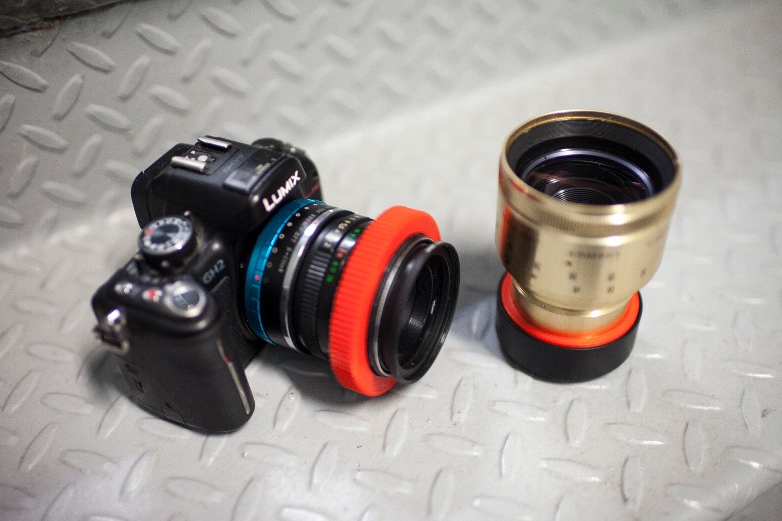 Anamorphic Lens Clamp